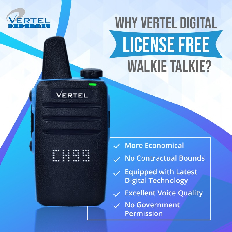 walkie talkie for business use