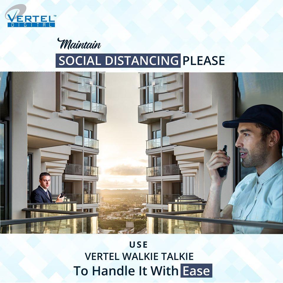 industrial walkie talkie