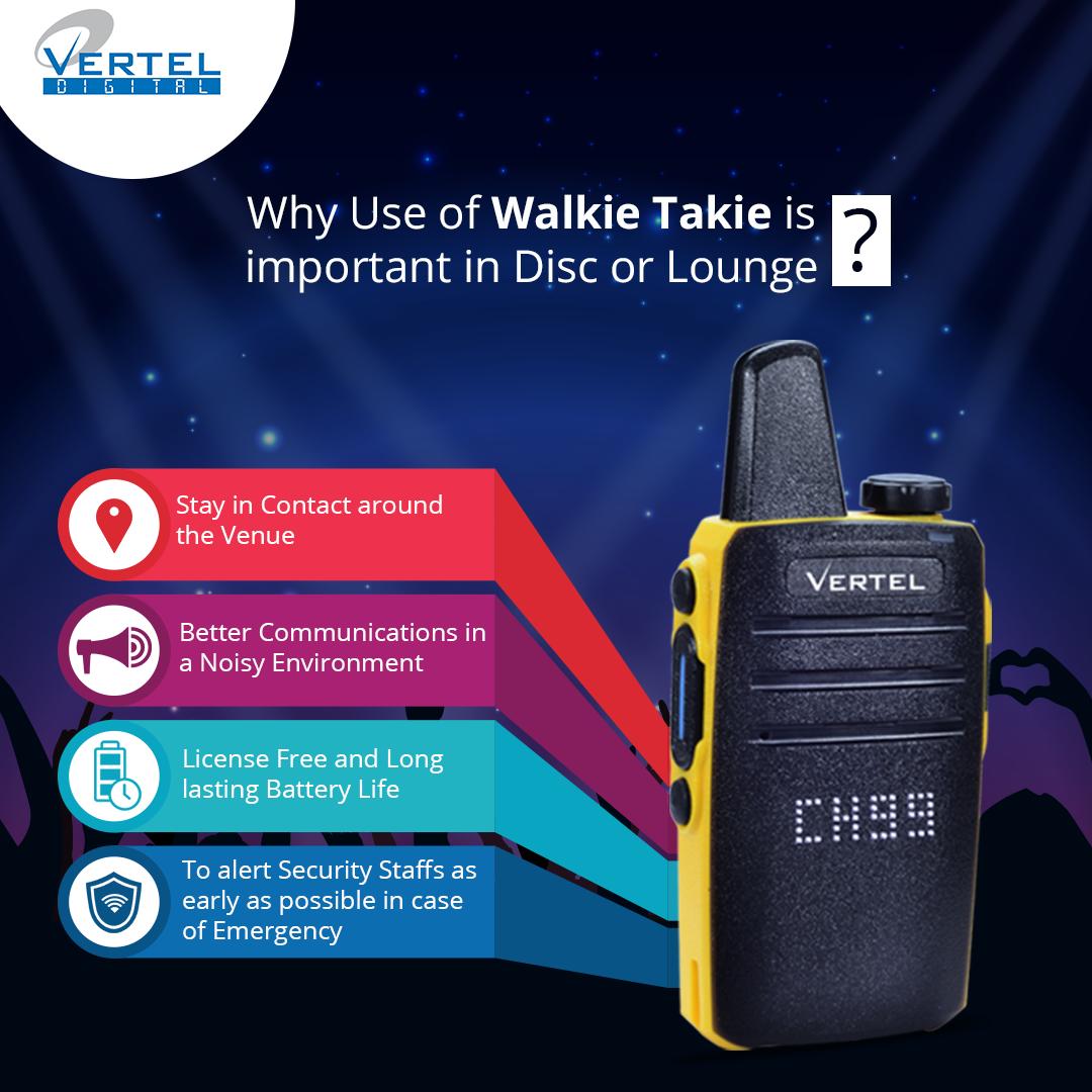 vertel walkie talkie